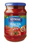 Pure de tomate 25% 10x350gr CHUMAK