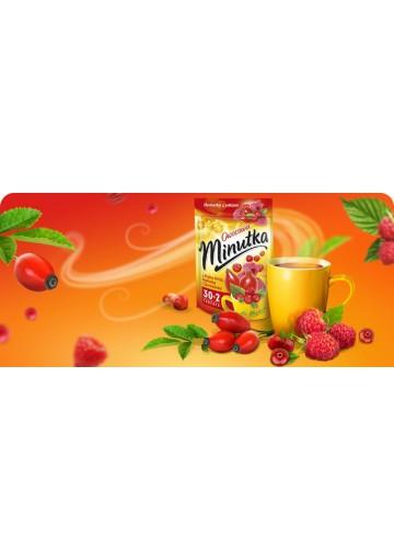 Чай МИНУТКА вкус малины,шиповника и клюквы 32х2гр MOKATE