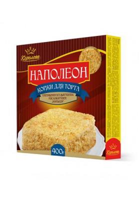 Torta seca para tarta Napoleon 12x400gr KOROLEVA