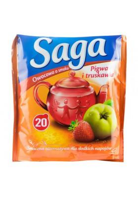 Te sabor membrillo fresa 20x1.7gr SAGA