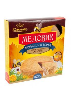 Torta seca para tarta de miel 12x400gr KOROLEVA