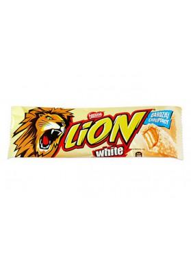 Barita de chocolate LION WHITE 40x42gr NESTLE