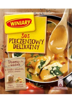 Salsa seco  PIECZENIOWY DELIKATNY 35x34gr WINIARY