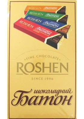 Barita de chocolate 30x52gr ROSHEN
