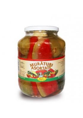 Surtido de verduras MURATURI concervado 4x1600gr CONSERVFRUCT