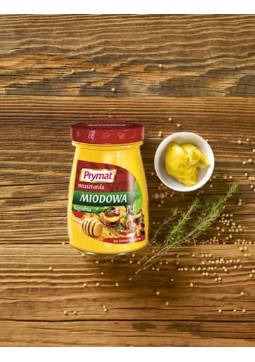 Mostaza de miel suave 6x185gr PRYMAT