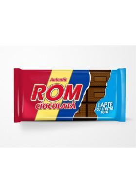 Chocolate de leche con crema de rom 24x88gr ROM