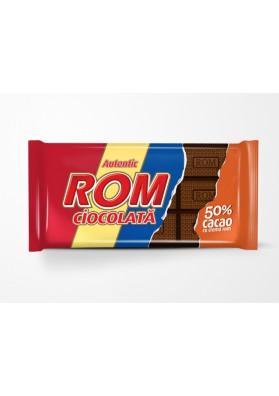 Chocolate con 50%cacao con crema de rom 24x88gr ROM