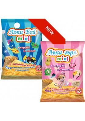 Gusnaitos de maiz salado con regalo LUCKY BOYS&GIRL 30gr