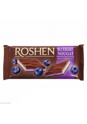 Chocolate con leche con turrón de arándanos 20x90gr ROSHEN