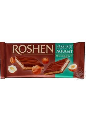 Chocolate de leche relleno de nuga de avellana 20x90gr ROSHEN