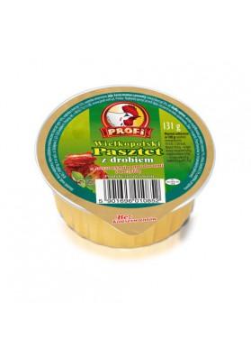 Pate de ave con tomate seco y albahaca 15x131gr PROFI