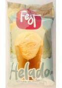 Helado de crema con sabor de vanilla 30x140ml.FEST