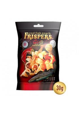 Snack de bacalao con sabor de chili 16x30gr FRISPERS