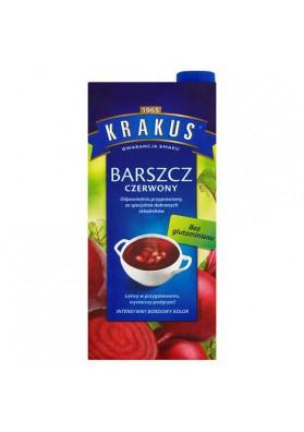 Sopa de remolacha rojo 8x1,5 L KRAKUS