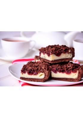 Tarta de queso con chocolate y guinda SERNIK de peso OLSZA