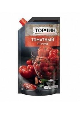 Ketchup de tomate TOMATNIY a la mesa 270gr.TORCHIN