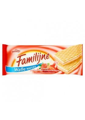Barquillos FAMILIJNE sabor fresa-nata 12x180gr JUTRZENKA