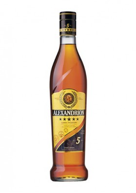 Brandy  ALEXANDRION  5* 40%alk.0.5L