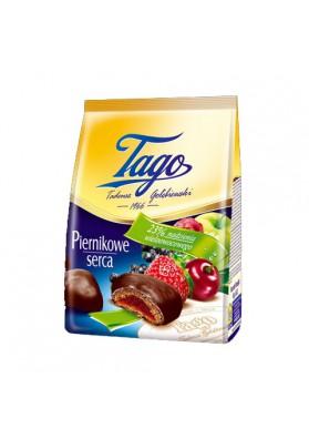 Melindre en chocolate relleno de frutas 12x160gr TAGO