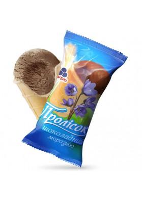 Helado de crema con sabor a chocolate CHOCOLATE ICE CREAM 50x60gr.PROLISOK