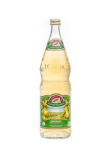 Refresco con sabor de pera DYUSHES 6x1L. CHEERNOGOLOVKA