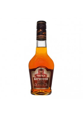 Brandy (coñac) BORISFEN 4 estrellas 40%alc.0,25L.TAVRIA