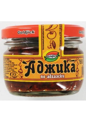 Salsa picante  ABJAZIA  12x120gr  GOLDJICK