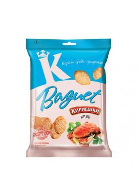 Picatostes de pan con sabor a cangrejo 32x50gr.KIRIESHKI nuevo