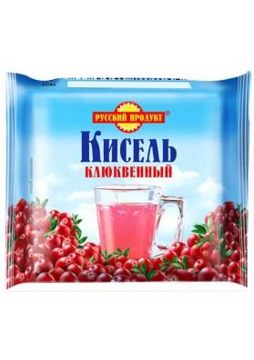 Kisel (gelatina) de ARANDANO en una briqueta 220gr.PRODUCTO RUSO