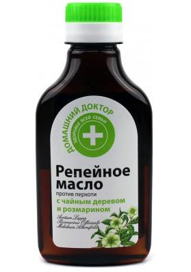 Aceite de bardana con árbol de té y romero 12x100ml DD