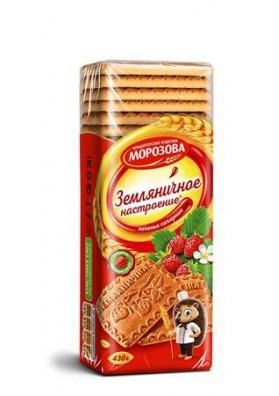 Galletas de azucar HUMOR FRESA 430gr.MOROZOV