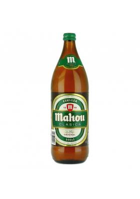 Cerveza MAHOU (classica) 6x1L. 4,8%alc. en vaso