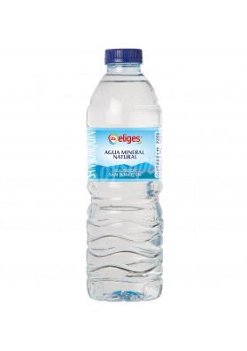 Agua mineral natural SAN JOAQUIN (sin gas) 500ml.ELIGES