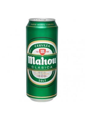 Cerveza MAHOY (clasica) original 24x0,5L.4,8%alc.lata