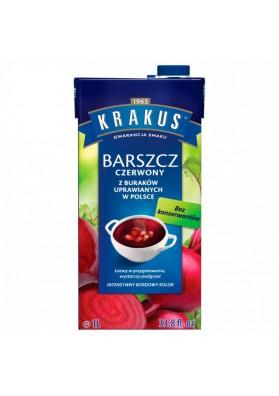 Sopa de remolacha rojo 6x1L KRAKUS