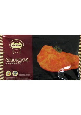 Empanadilla rellena de carne preparada 22x130gr MANTINGA
