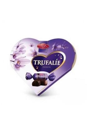 Bombones TRUFALIE en glaseado de grasa de cacao 124gr.ABK