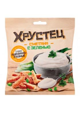Picatostes de trigo y centeno CRUJIENTE (con crema agria y hierbas) 35gr.CHERNOGOLOVKA