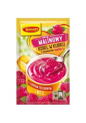 Kissel SABOR FRAMBUESA con trozos de fruta con azucar de caña 26gr.WINIARY