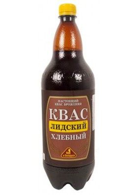 Refresco fermentado de pan KVAS LIDSKIY 6x1.5L.LT