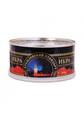 Caviar de salmon (keta)  KREMLEVSKIY STANDART 300gr LEMBERG