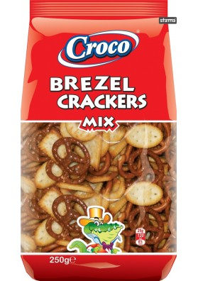 Galletas Crackers & Brezel MIX 15x250gr CROCO