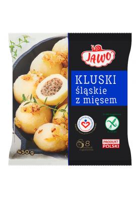 Bolas de patata con carne KLUSKI SLASKIE 10x450gr.JAWO
