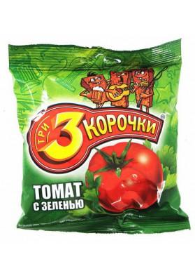 Picatostes de pan negro sabor tomate con verdura 60x45gr TRI KOROCHKI