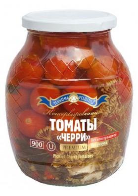 Tomates conservados CHERRY PREMIUM rojos 8x840gr.TR