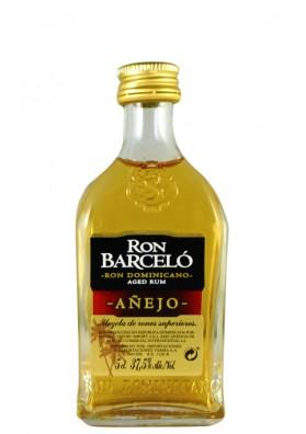 Ron BARCELO (Anejo) Dominicano mini 37,5%alc.50ml.