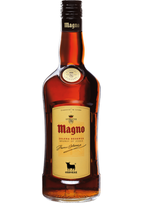 Brandy de jerez MAGNO (Solera Reserva) 36%alc.0,7L.OSBORNE