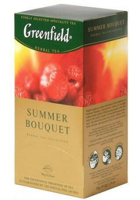 Te Greenfield  SUMMER BOUQUET  10x25x2gr