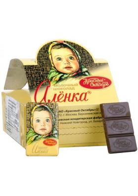 Chocolate de leche  ALENKA 42X15gr KO